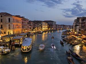 Venice Grand Canal Tour Photos