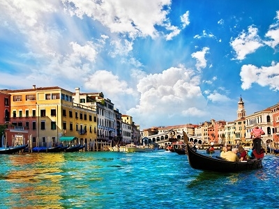 Venice - Grand Canale From Rialto Bridge