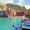 Vernazza Colorful Harbor