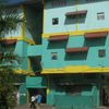 Vibrantly Painted Dwellings