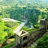 View From Top Of Kangra Fort