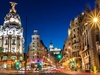 View Gran Via In Madrid