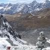 View Himalayas Landscape With Kongde Ri - Nepal