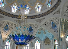 View Kul Sharif Mosque Interior