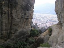 View Meteora - Holy Trinity Monastery