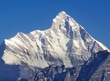 View Mount Nanda Devi UT In Indian Himalayas