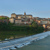View Of Albi In The Morning