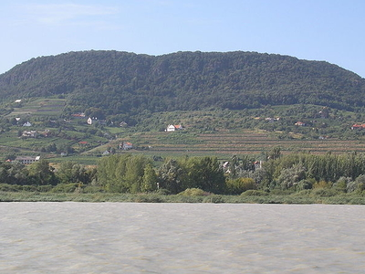 View Of Badacsonytomaj From The Lake