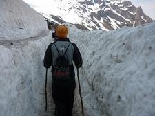 View Of Hemkund Glacier
