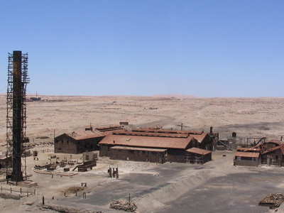 Humberstone and Santa Laura Saltpeter Works
