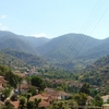 View Of Kakopetria Village And Troodos Mountains In The Backg