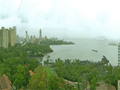 View Of Mumbai Harbour