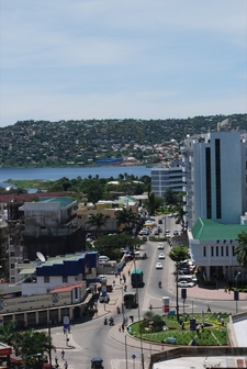 View Of Mwanzas Central Business District