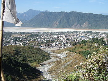 View Of Phuntsholing - Chukha District