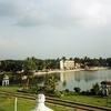 View Of Rajbari Lake From Ujjayanta Palace