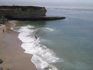 Steamer Lane Beach