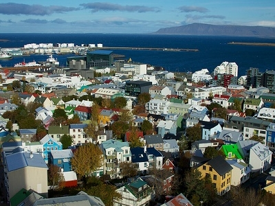 View Old Downtown & Harbour Of Reykjavik