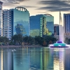 View Orlando From Lake Eola FL