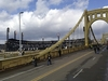 View Pittsburgh PA - Roberto Clemente Bridge