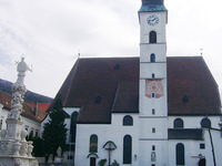 Stadtpfarrkirche St Magdalena