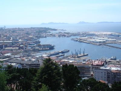 Vigo As Seen From Monte Do Castro