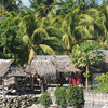 Village Huts In Tarawa