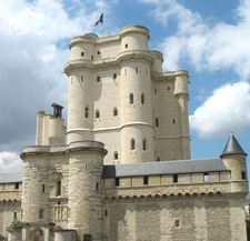 The 14th Century Donjon Of The Château De Vincennes