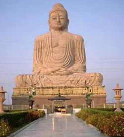 The 94 Ft. Tall Vishal Buddha Mandir