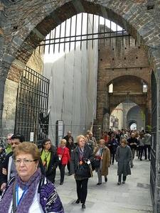 Visitors At Castello Sforzesco - Milano