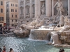 Visitors At Trevi Fountain - Rome