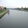 Vistula River Flowing Through Kraków