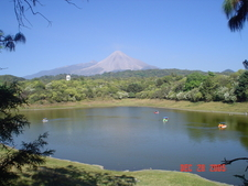 Volcano As Seen From Carrizalillo Lagoon