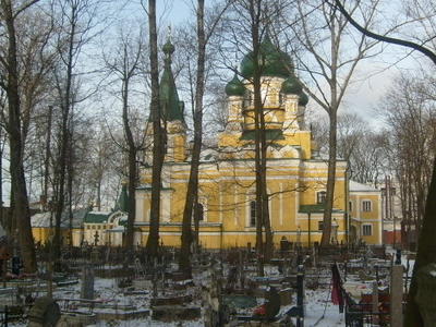 Volkovskoe Cemetery  Church Of  Saint  Job