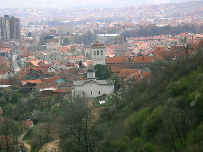 Vranje From The Hill