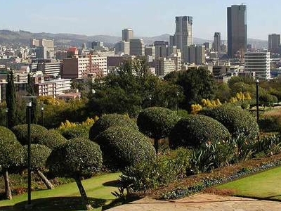 View Of Pretoria From The Union Buildings