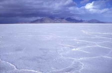 View North Of Bonneville Salt Flats