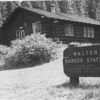 Walton Ranger Station Historic District - Glacier - USA
