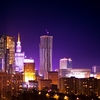 Warsaw City At Night