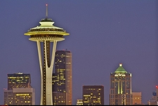 WA Seattle Space Needle