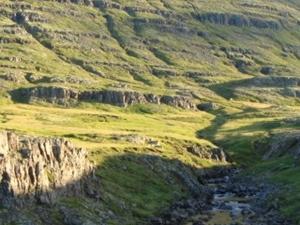 Waterfall lane
