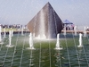 Water Fountain At Three Gorges Dam Site