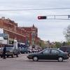 Waupaca Wisconsin Downtown During Sesquicentennial