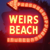 Weirs Beach Sign New Hampshire