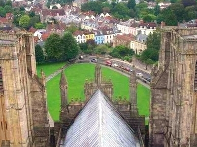 Wells From Cathedral Tower
