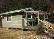 West Arm Hut