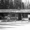 West Entrance Station - Glacier - USA