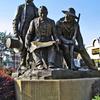 Westport Pioneers Statue