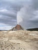 White Dome Geyser - Yellowstone - USA