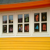 Window Paintings In Tasiilaq House