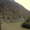 Wooden Bridge Along Shimla-Manali Rd - Kullu HP